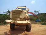 Custom made and mine safe military vehicles