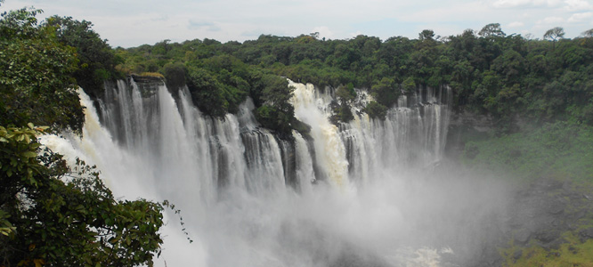 Kalandula waterfalls